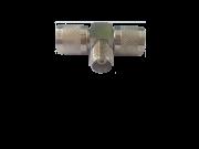Emenda T -1 BNC Fêmea e 2 Machos