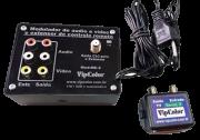 Extensor De Controle Remoto Com Modulador Integrado Vipcolor Me-2