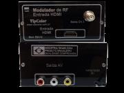 Modulador De Rf Entrada Hdmi Saída A/v E Canal 3