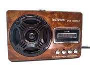 Radio Portátil Livstar Cnn-2520/ Usb /sd / Tf Som