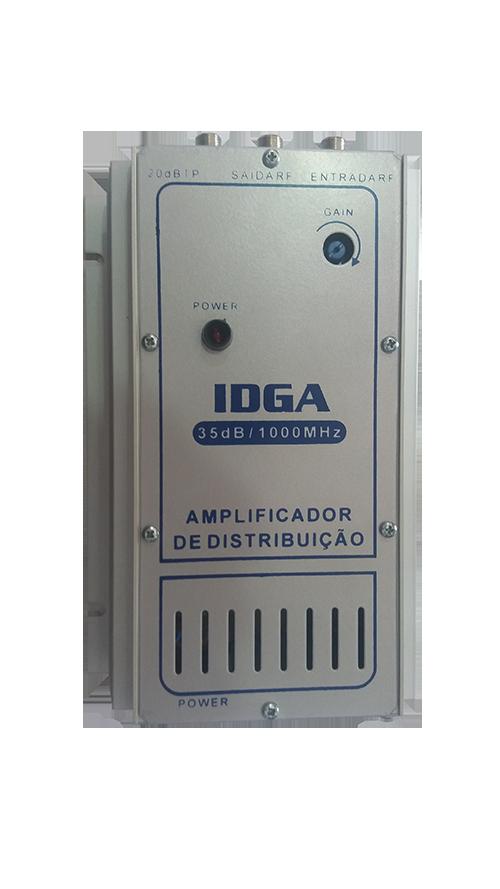 Amplificador 35DB coletiva predial