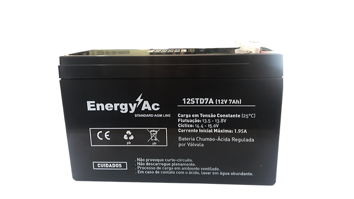 Bateria 12v 7 Amperes