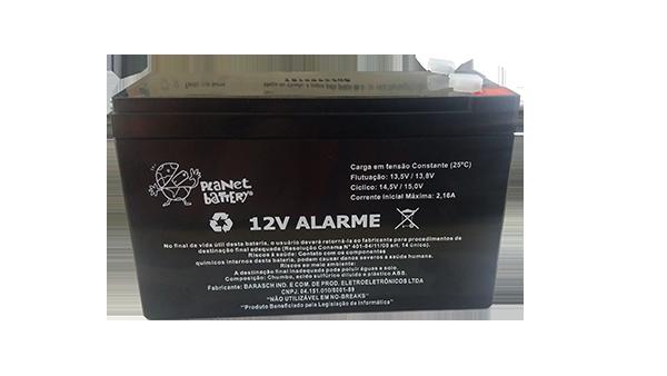 Bateria Selada 12 V 6 A Alarme