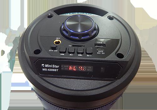 Caixa de som/Radio MS-4209BT