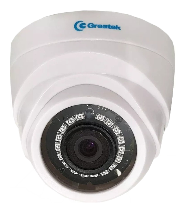 Câmera Dome 4x1 Plástica HDCVI , HDTVI ,AHD e Analógica