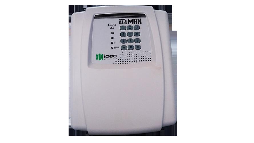 Central de Alarme  4 setores com discadora