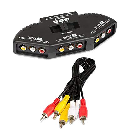 Chave Seletora Audio e Video