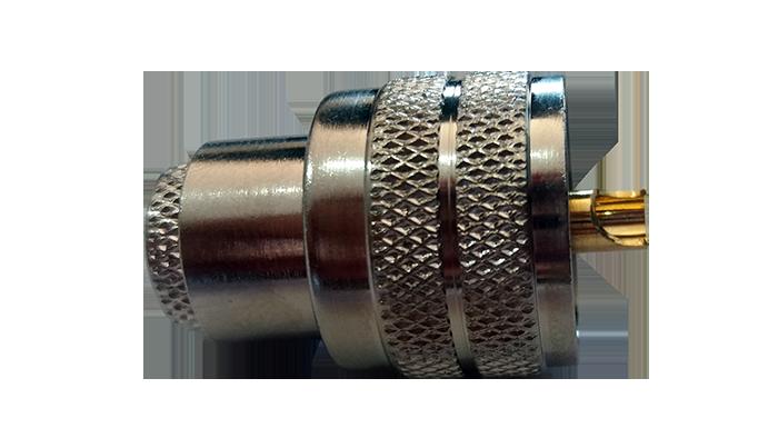 Conector de UHF Macho para cabo  RG-58