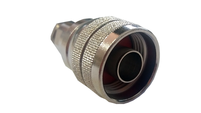 Conector N Macho para RG-58 Clamp