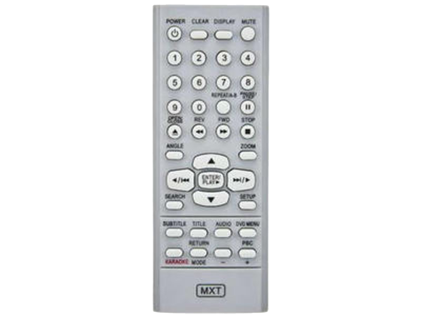 Controle de DVD Lenoxx Gray