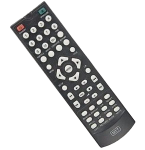 Controle de DVD Lenoxx Sound Black
