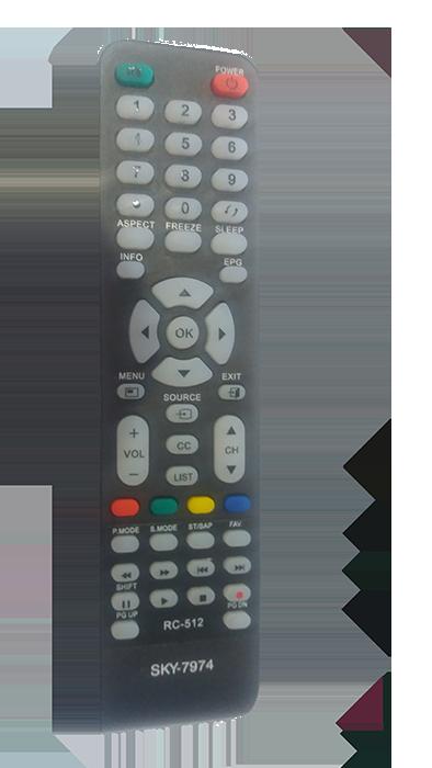 Controle de Tv CCE  LCD/ LED/ PLASMA