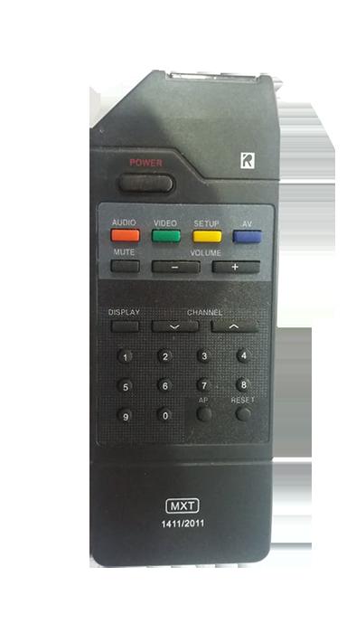 Controle de TV Gradiente GTCO849
