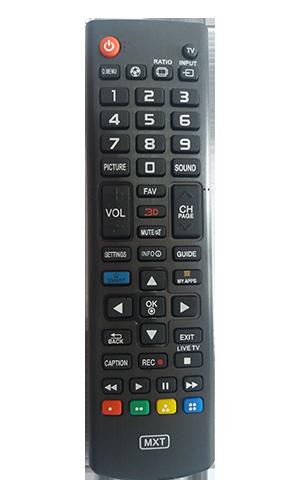 Controle de Tv LG Led Smart 3D Futebol