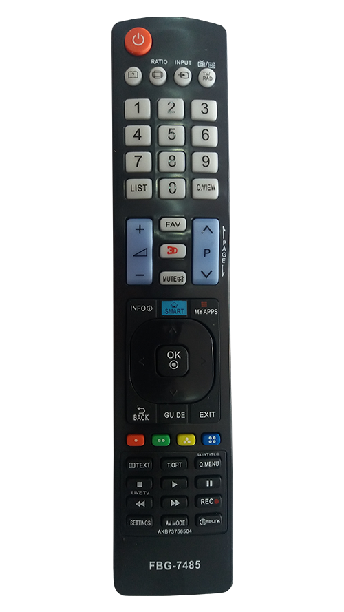 Controle De Tv Lg Smart 3D Grande