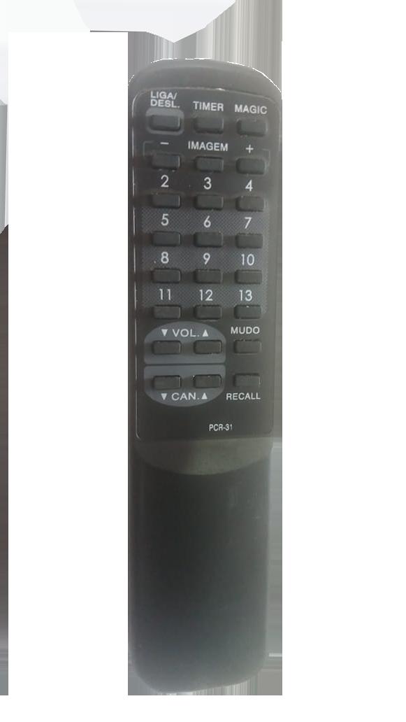 Controle de Tv philco PCR 31