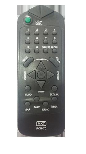 Controle De Tv Philco PCR 70