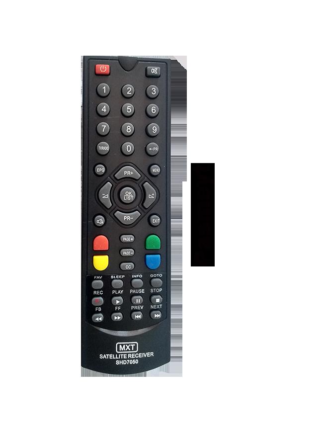 Controle Do Receptor Century MidiaBox 7100