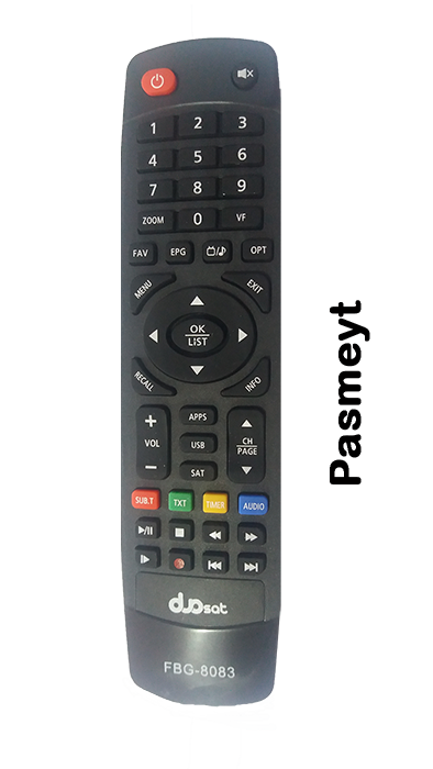 Controle do Receptor Duosat 8083
