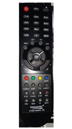 Controle Do Receptor VT4300