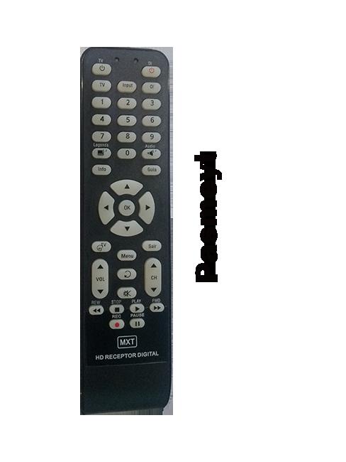 Controle Remoto do Receptor Oi Tv Digital HD
