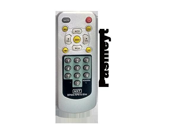 Controle Remoto do Receptor Plamastic Slim RP/610