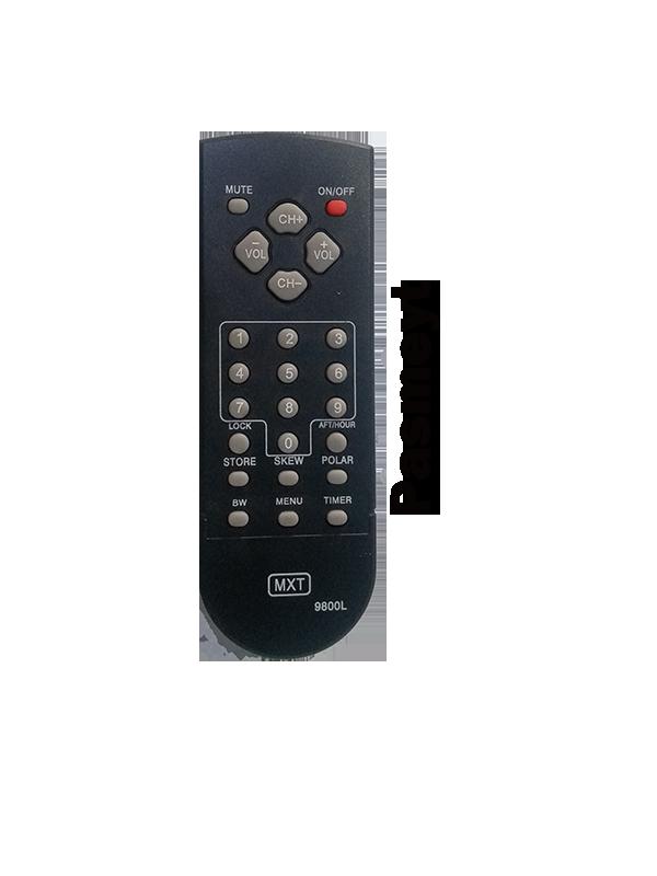 Controle Remoto do Receptor Quasar 9800 Plus/ Ninja