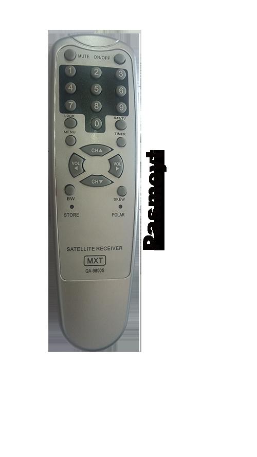 Controle Remoto do Receptor Quasar QA-9800S