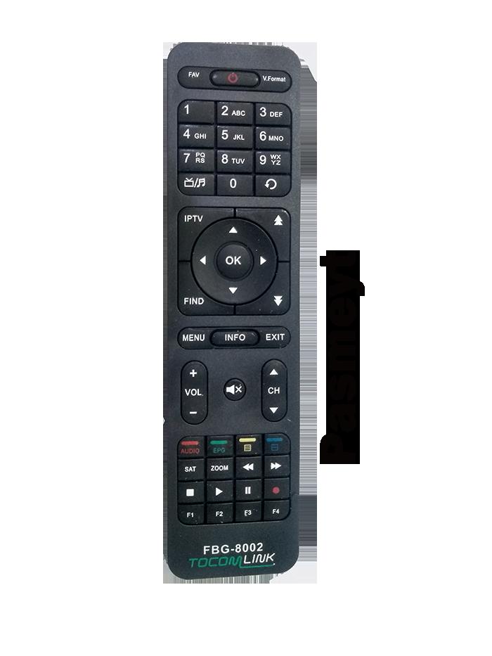 Controle Remoto do Receptor Tocom Link 8002