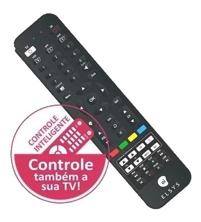 Controle Remoto Inteligente Oi Tv Hd Etrs35 37 44 Elsys