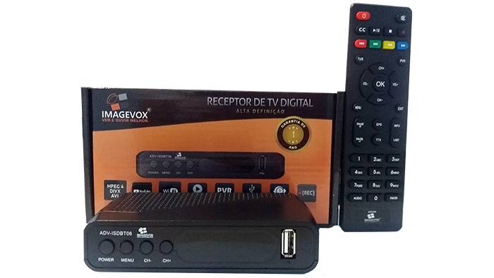 Conversor Para Tv Digital Imagevox