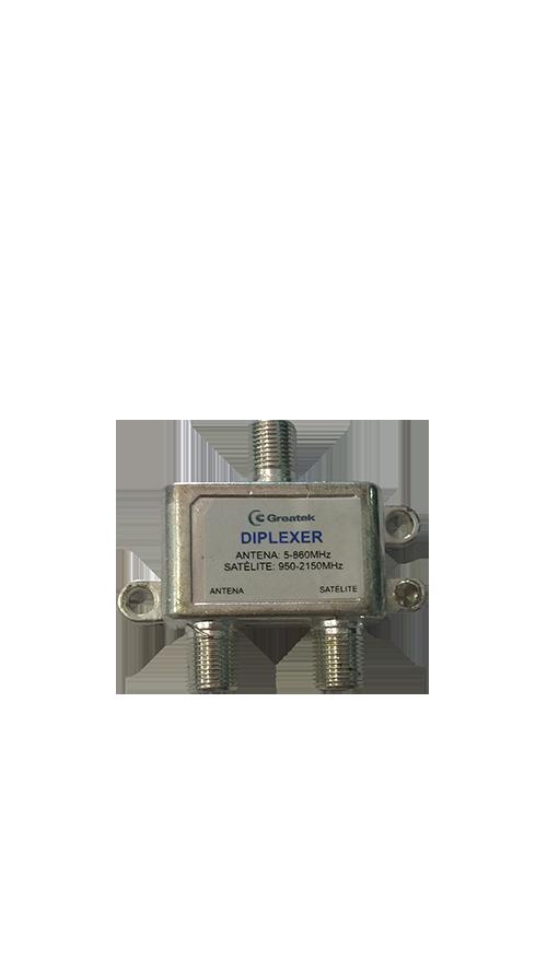 Diplexer VHF / UHF / Satélite