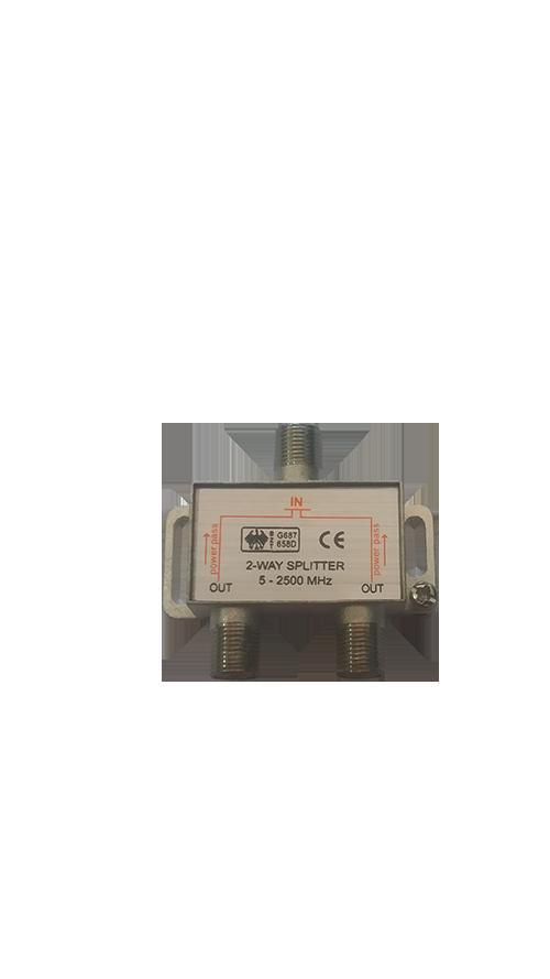 Divisor 1/2 satélite 5-2400Mhz