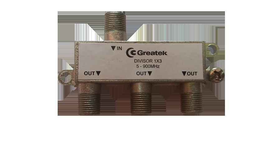 Divisor 1 / 3 UHF/ VHF Greatek