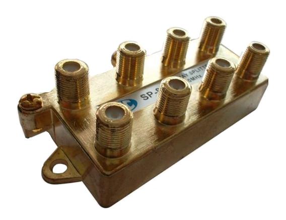 Divisor Itc 5 A 900 Mhz 1 Entrada E 8 Saidas.