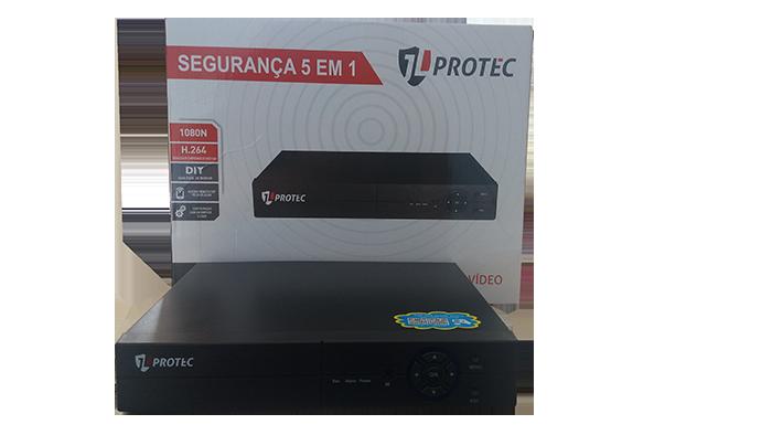 DVR 16 câmeras protec
