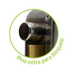 Fechadura Elétrica Com Pino De Segurança Duolock- Elsys