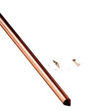 Haste de Cobre 2 metros Para Aterramento