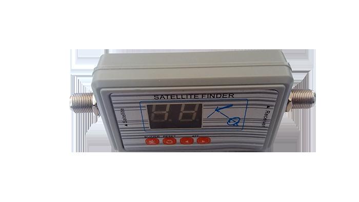 Localizador de satélite  com display digital