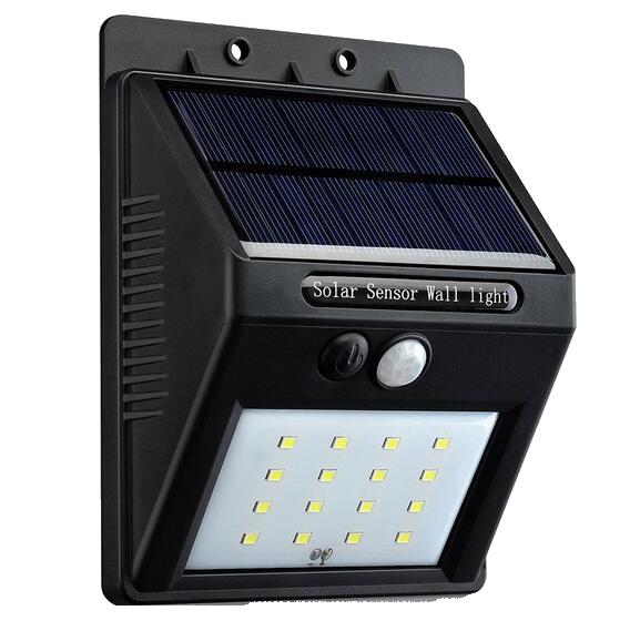 Luminária Solar Com Sensor De Presença Sem Fio