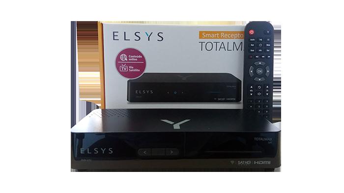 Receptor Totalmax Sat HD + Wi-Fi + Tv Via Satélite + Conteúdo Online Com GLOBO HD Regional E Globoplay Etrs47