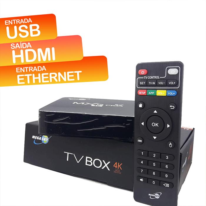 Smart TV Box MXA 4K/5G