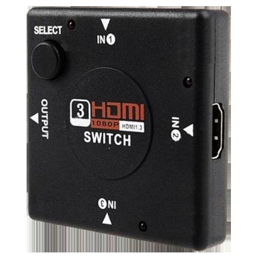 Switch Hdmi 3 Portas 1080p