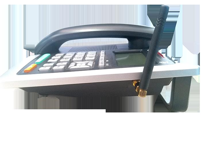 Telefone Celular De Mesa Gsm Wireless Greatek Dual Chip