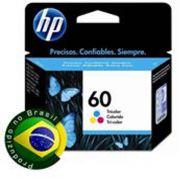 Cartucho HP 60 Tricolor CC643WB - 6,5ML