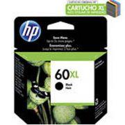Cartucho HP 60XL Preto CC641WB - 13,5ML