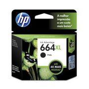 Cartucho HP 664XL Preto F6V31AB - 8,5ML