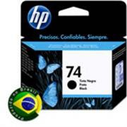 Cartucho HP 74 Preto CB335WB - 6ML