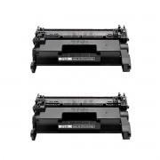 Kit 2 Toner CF258 258A - M428FDW M404DW M428DW M404N SEM CHIP