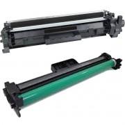 Kit Fotocondutor CF219 + Toner CF217A para M102 M102A M102W M130 M130FN M130FW M130NW